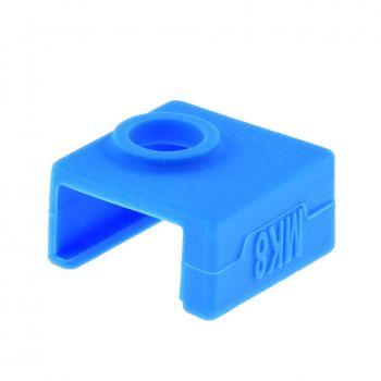 Heater Block Silicone Cover MK8 - Blue