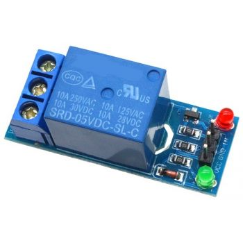 Relay Module - 1 Channel 5V Low Level Trigger
