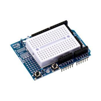 Proto Shield for Arduino UNO with Mini Breadboard