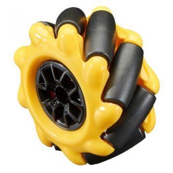 Right Mecanum Wheel - 48mm Diameter - TT Motor or Cross Axle