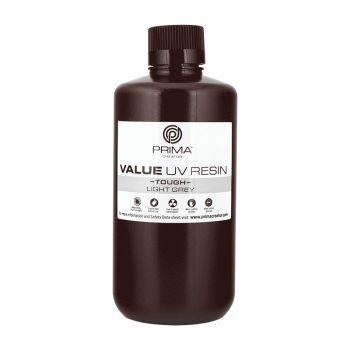 PrimaCreator Value Tough UV Resin - 1lt - Light Grey