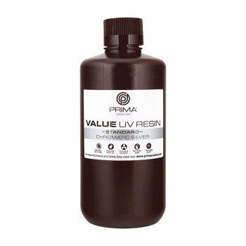 PrimaCreator Value UV Resin - 1lt - Chromatic Silver