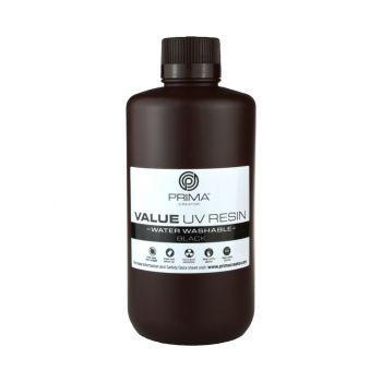 PrimaCreator Value Water Washable UV Resin - 1lt - Black