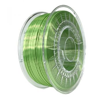 3D Printer Filament Devil - SILK 1.75mm Bright Green 1kg