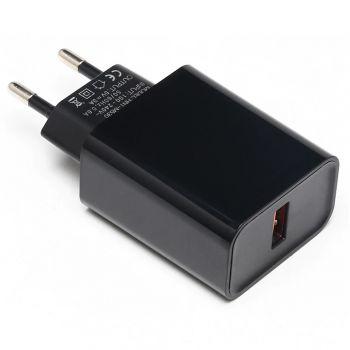 Power Supply 5V 3A - USB Plug - Black