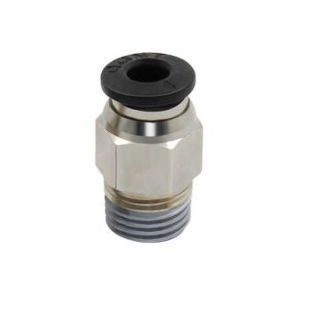 Push Fit Connector 4mm 1/8'' - PC4-01