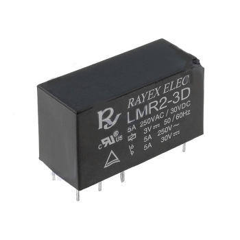 Relay 3V DPDT (5A/250VAC)