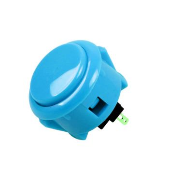 Arcade Push Button Mini 32mm - Blue