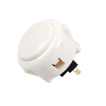Arcade Push Button Mini 32mm - White