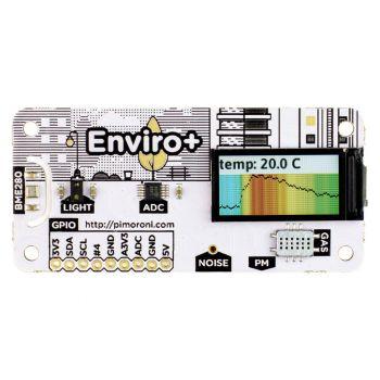 Pimoroni Enviro for Raspberry Pi - Enviro + Air Quality