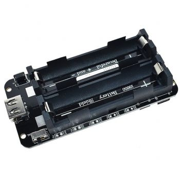 Batteries Charger 2x 18650 with Step-Up 5V - USB
