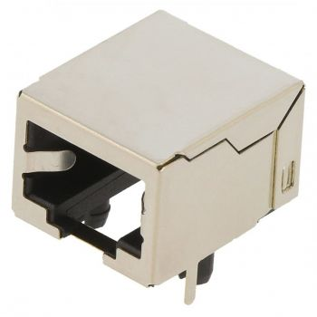RJ45 8-Pin PCB Connector - RJ45GE-C