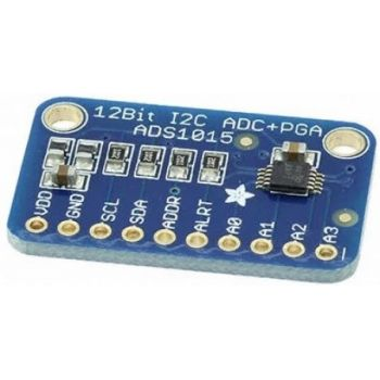 ADS1015 12-Bit ADC - 4 Channel with Programmable Gain Amplifier
