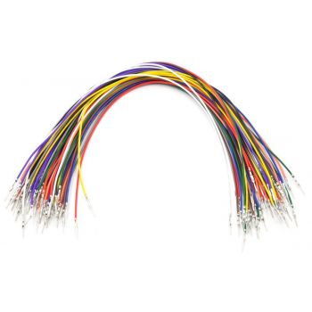 Jumper Wires 15cm Male to Male Pre-Crimped - Pack of 10