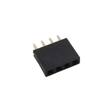 Pin Header 1x4 Female 2.54mm