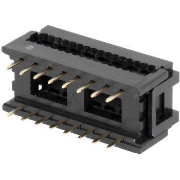 IDC Connector 2x8 Pin PCB - Breadboad Friendly