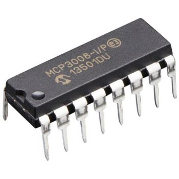 MCP3008 - 10bit 8 channel ADC SPI